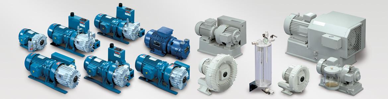 Pompe per vuoto con lubrificazione serie G - 5-20 mc/h