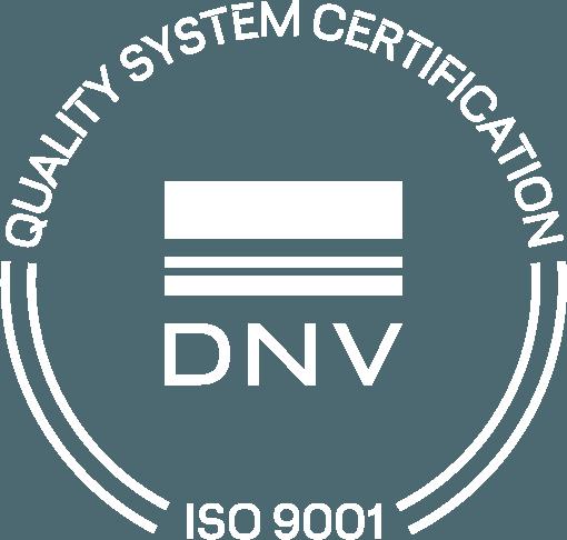 ISO 9001 DNV GL Certification Mark