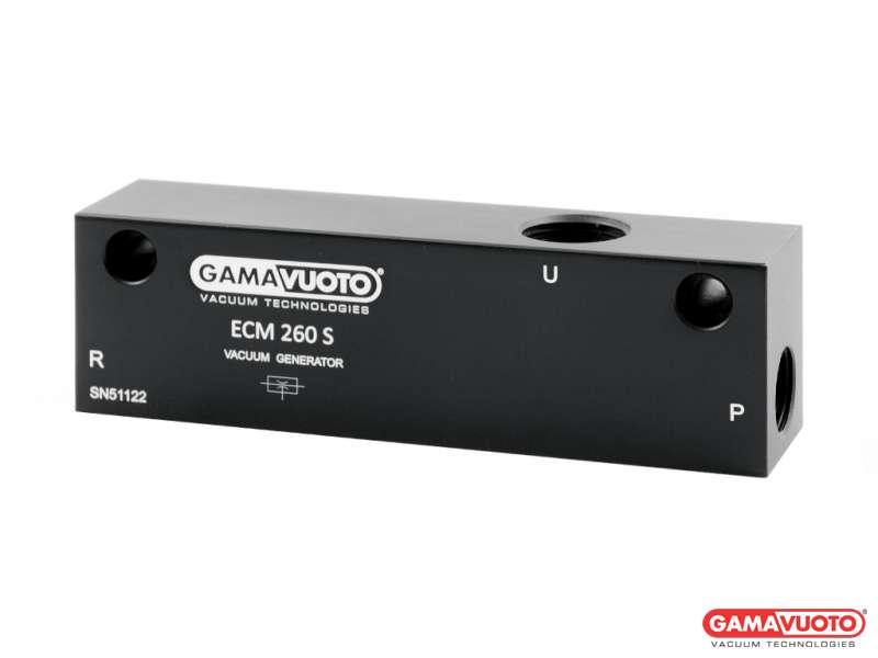 Generatori di vuoto monostadio a cartuccia mod. ECM 200S - 240S