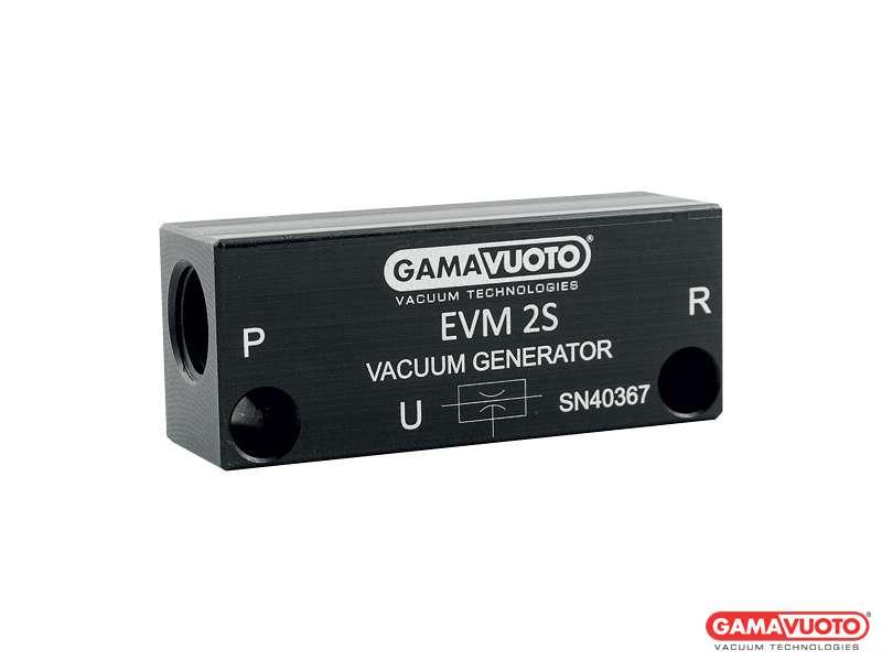 Generatori di vuoto monostadio compatti mod. EVM2S