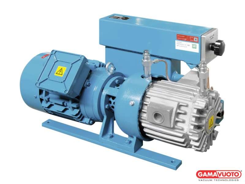 Pompe per vuoto con lubrificazione e cartuccia disoleatrice - 25-35 mc/h