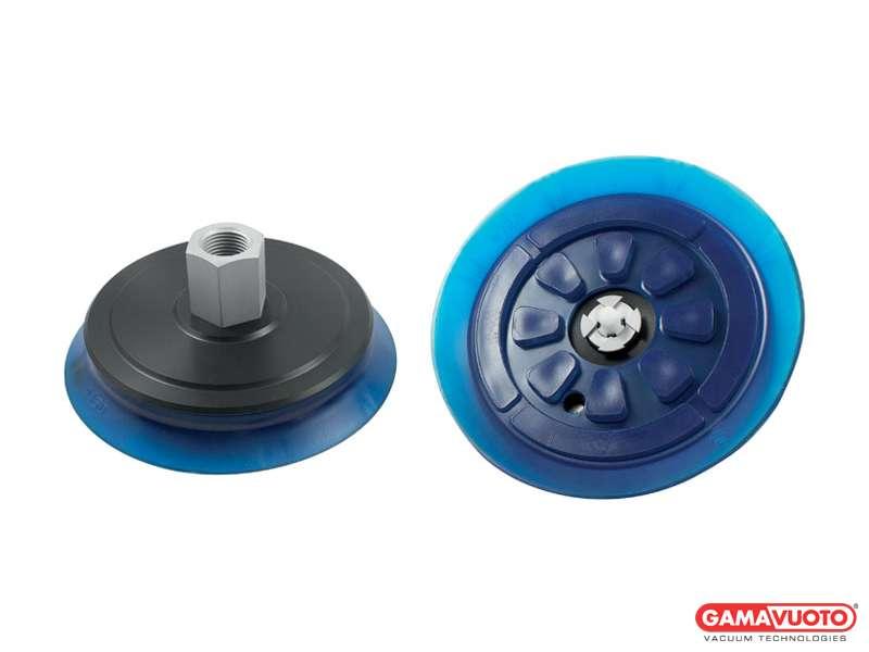Ventose a disco serie VP 150 con supporto e tastatore