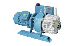 Vacuum pumps with lubrication G series - 40-75 mc/h