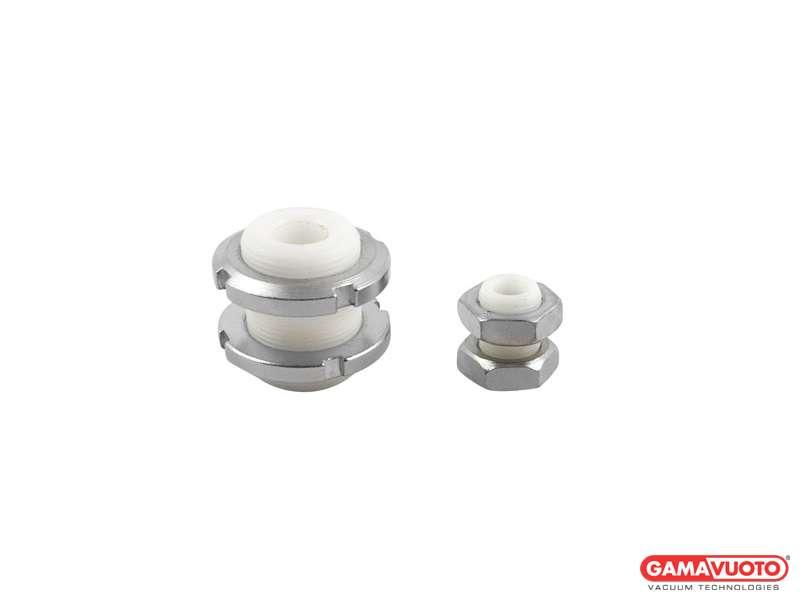Portaventosa standard passaparete in resina acetalica