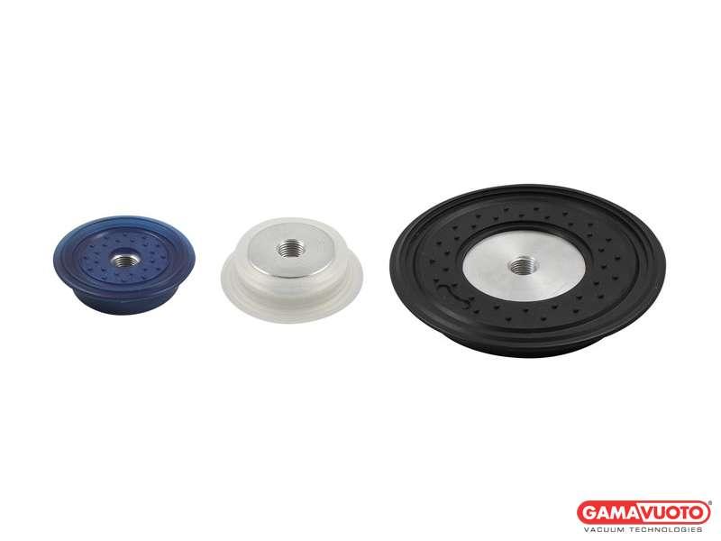 Ventose a disco serie VDUS con supporto in alluminio