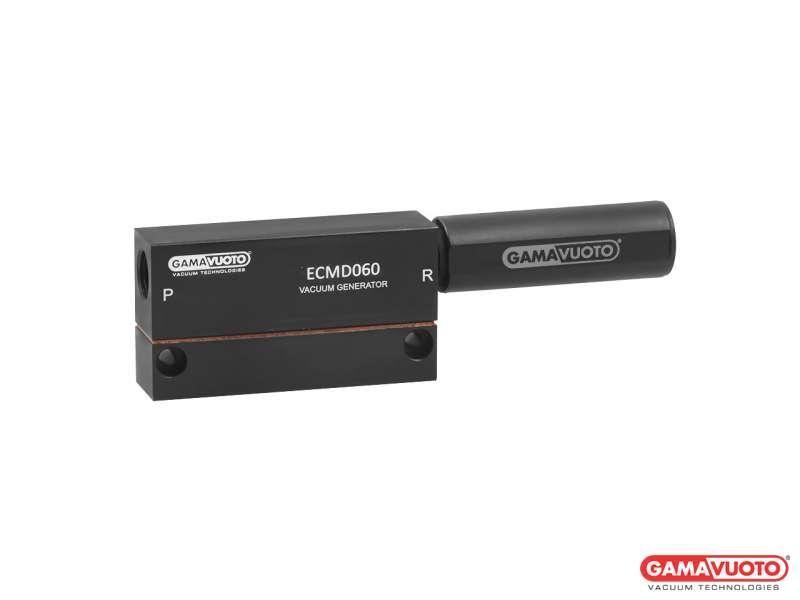 Generatori di vuoto doppio stadio a cartuccia mod. ECMD 60 ÷ 140