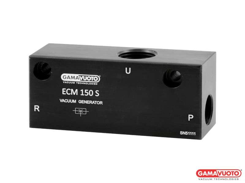 Generatori di vuoto monostadio a cartuccia mod. ECM 70S ÷ 150S