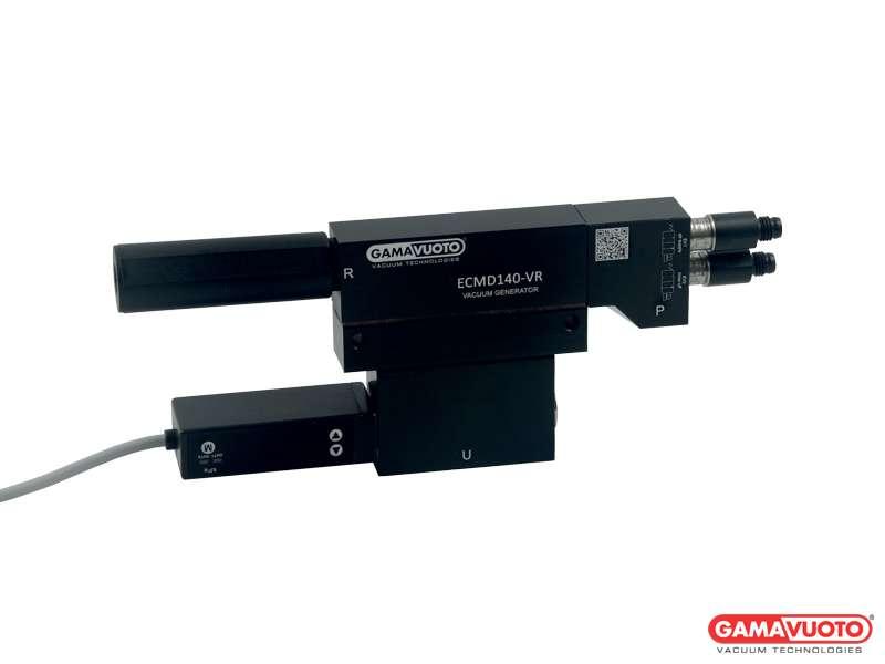 Generatori di vuoto doppio stadio a cartuccia mod. ECMDVR 60 ÷ 140