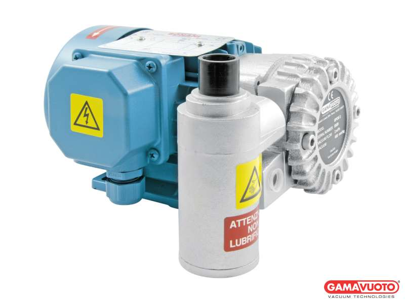 Pompe per vuoto senza lubrificazione - 2-4 mc/h