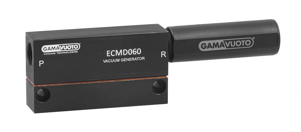 Nuovi generatori di vuoto DOPPIO STADIO serie ECMD