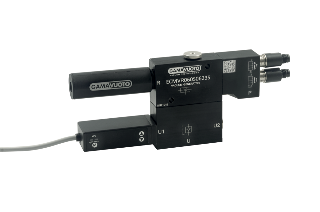 Single-stage cartridge vacuum generators mod. ECMVR